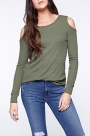Sanctuary Bowery Thermal Bare Tee - Front cropped