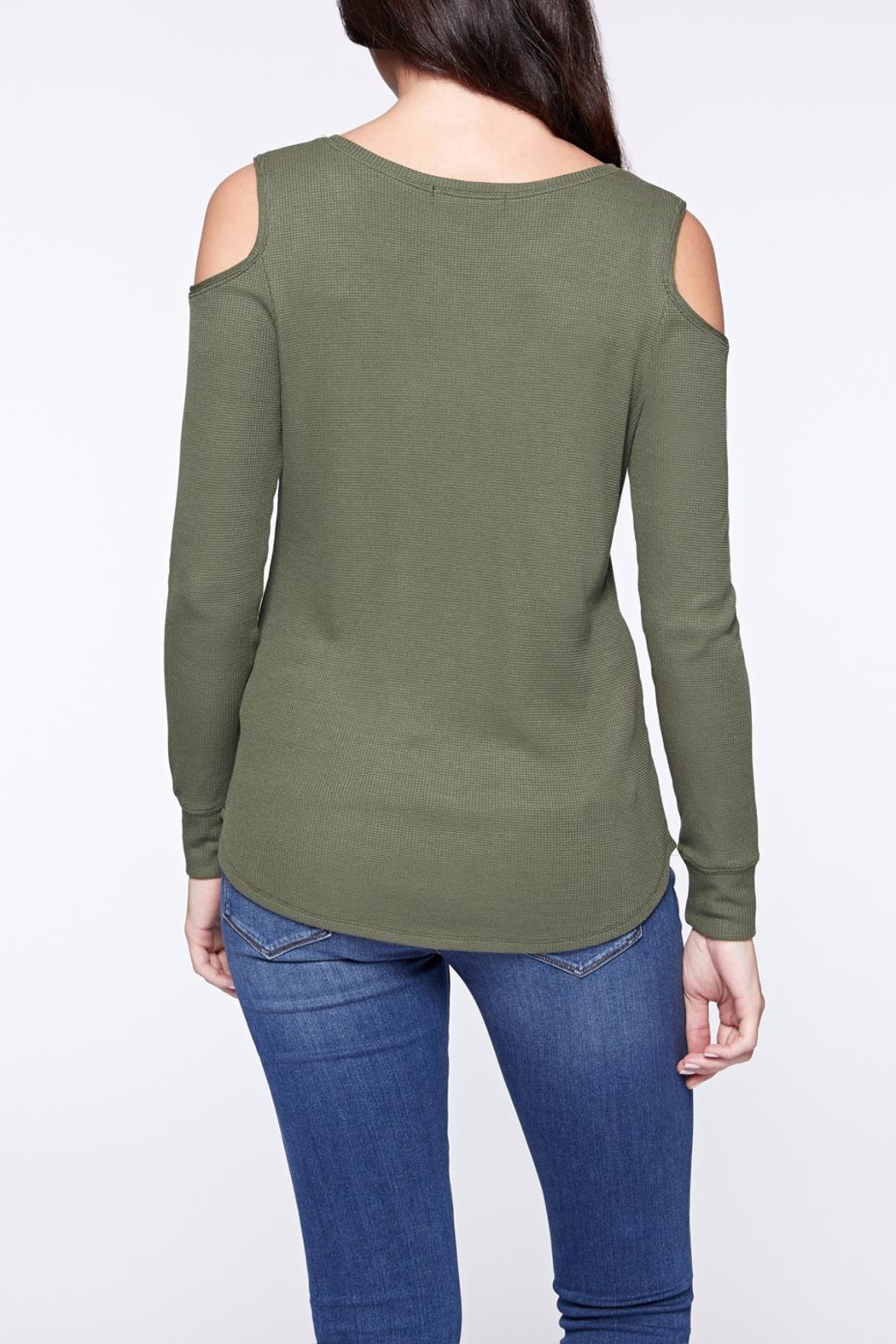 Sanctuary Bowery Thermal Bare Tee - Front Full Image