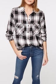 Sanctuary Boyfriend Plaid Shirt - Product Mini Image