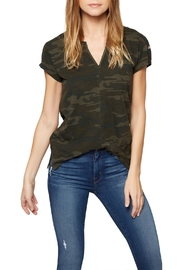 Sanctuary Camo Split Tee - Product Mini Image