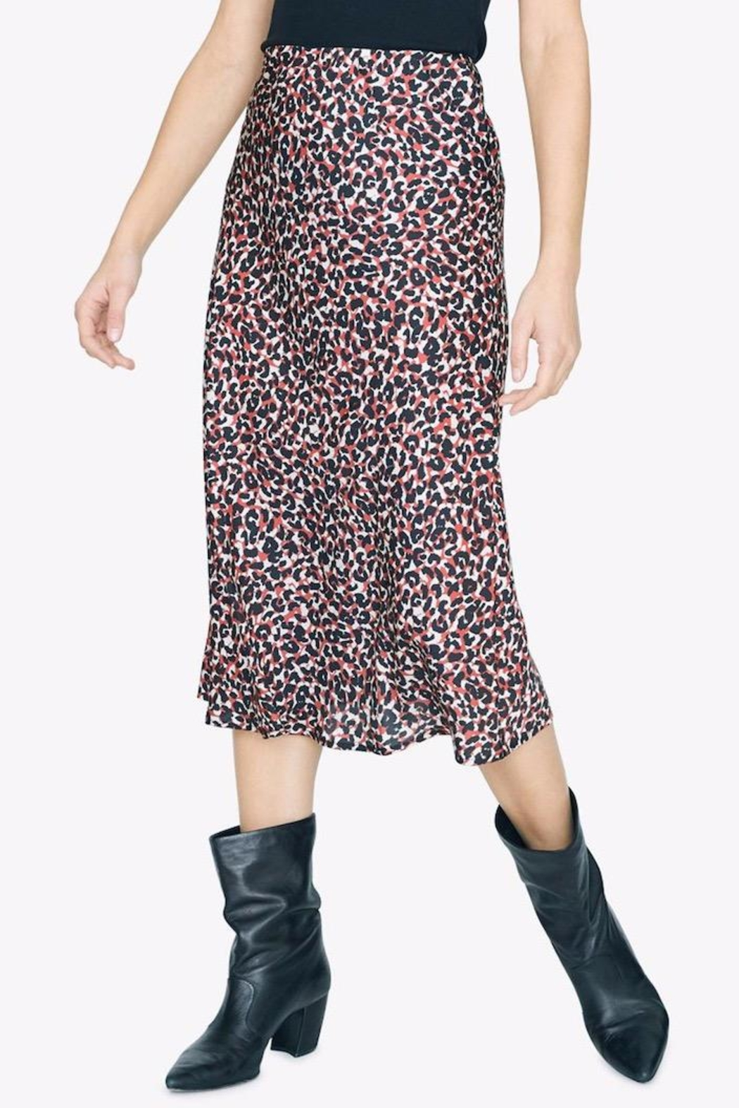 Sanctuary Cheetah Print Skirt - Side Cropped Image