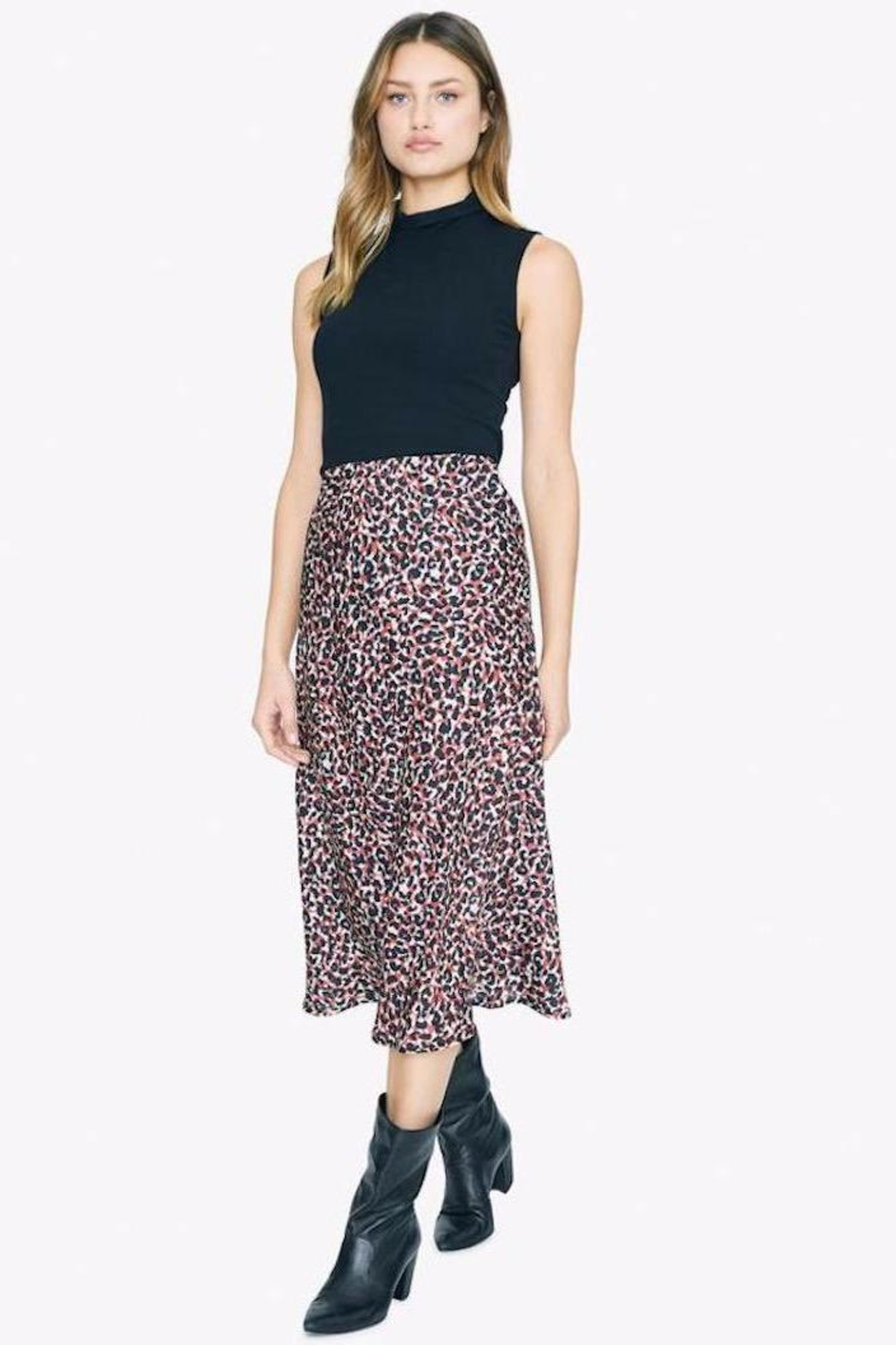 Sanctuary Cheetah Print Skirt - Main Image