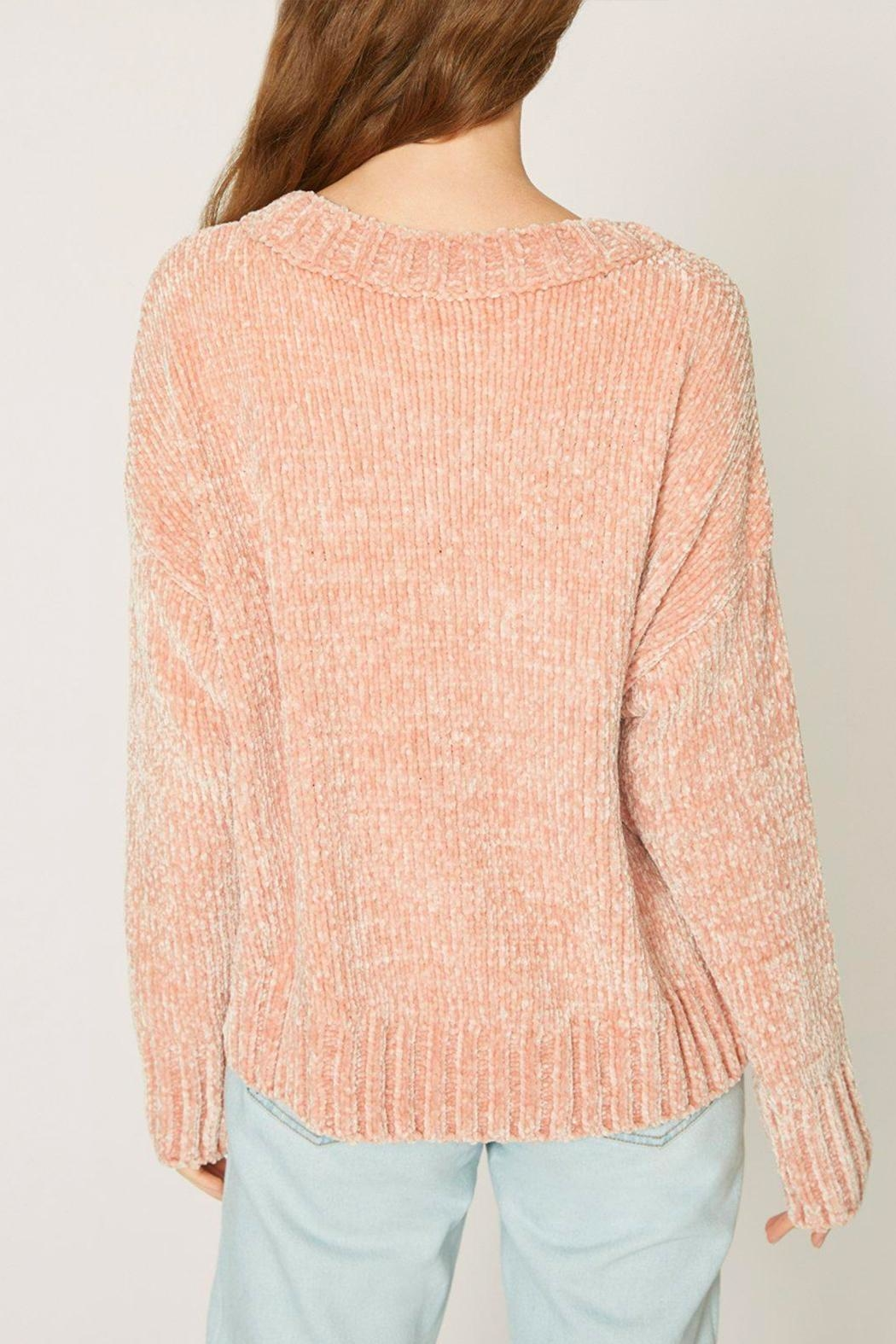 Sanctuary Chenille Pullover Sweater - Front Full Image