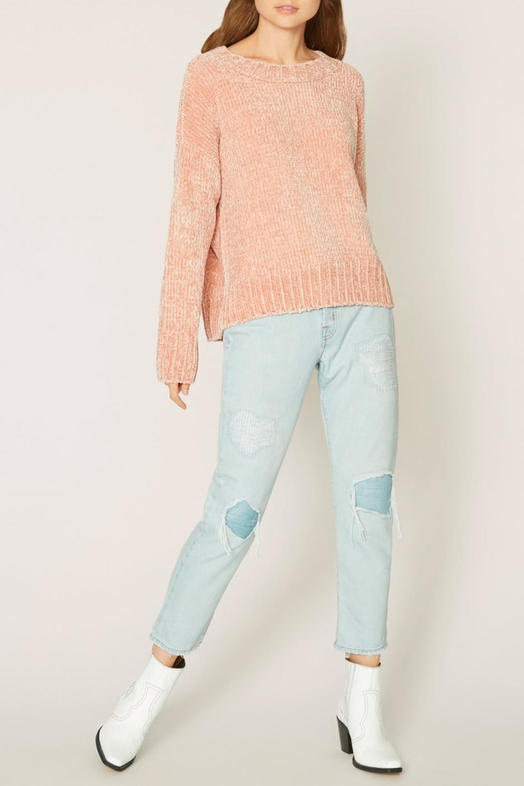 Sanctuary Chenille Pullover Sweater - Side Cropped Image
