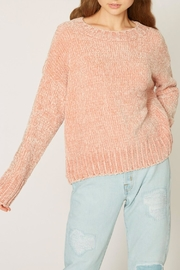 Sanctuary Chenille Pullover Sweater - Front cropped