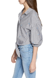 Sanctuary Clover Tie Shirt - Front full body