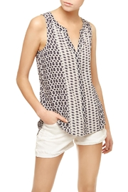Sanctuary Collage Sleeveless Top - Front cropped