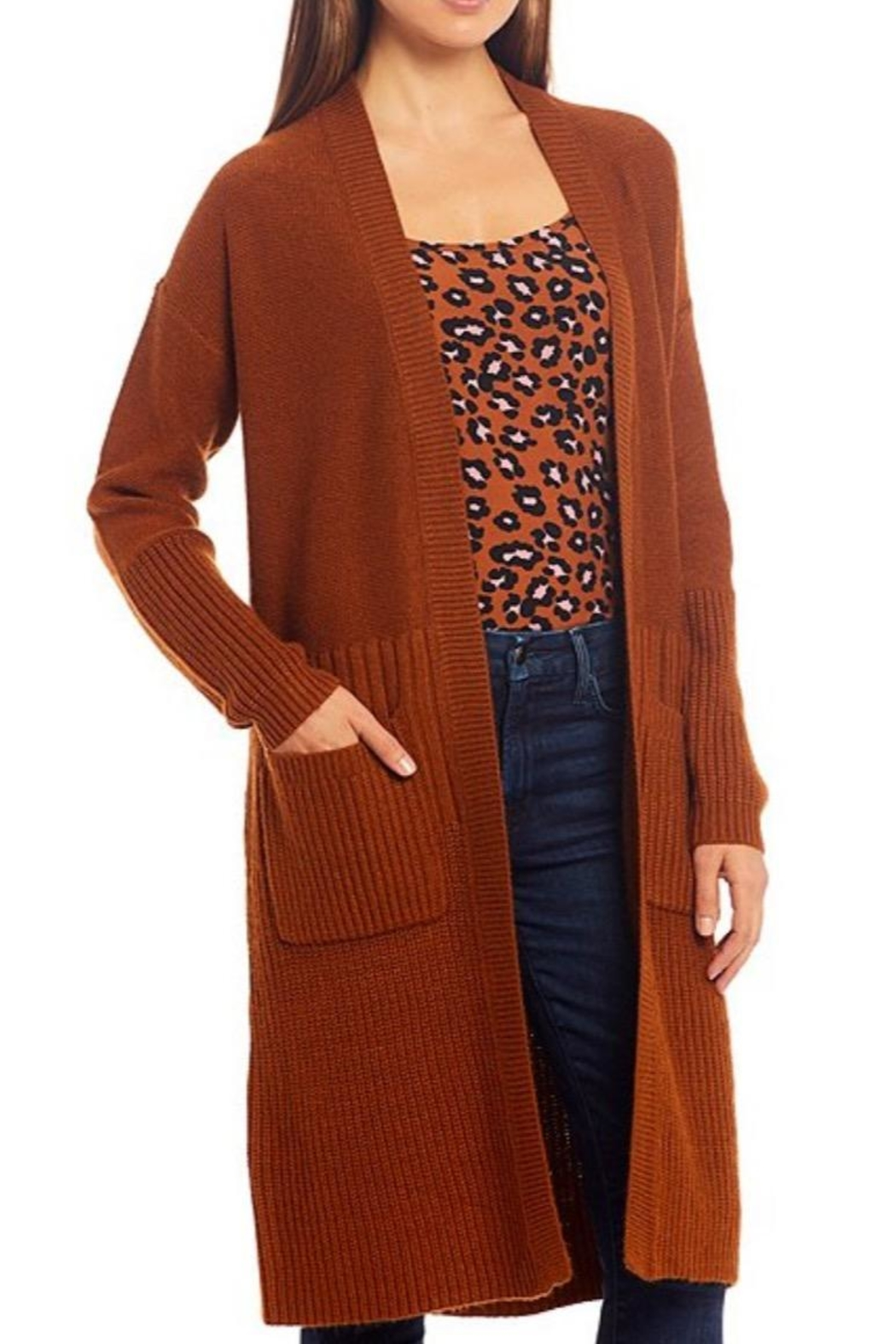 Sanctuary Relaxed Ribbed Duster - Main Image