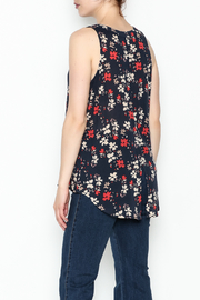 Sanctuary Craft Shell Evening Top - Back cropped