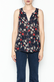 Sanctuary Craft Shell Evening Top - Front full body