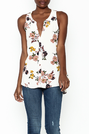 Sanctuary Craft Shell Top - Front cropped