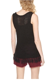 Sanctuary Dion Fringe Top - Front full body