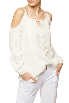 Shoptiques Product: Exposed Shoulder Top