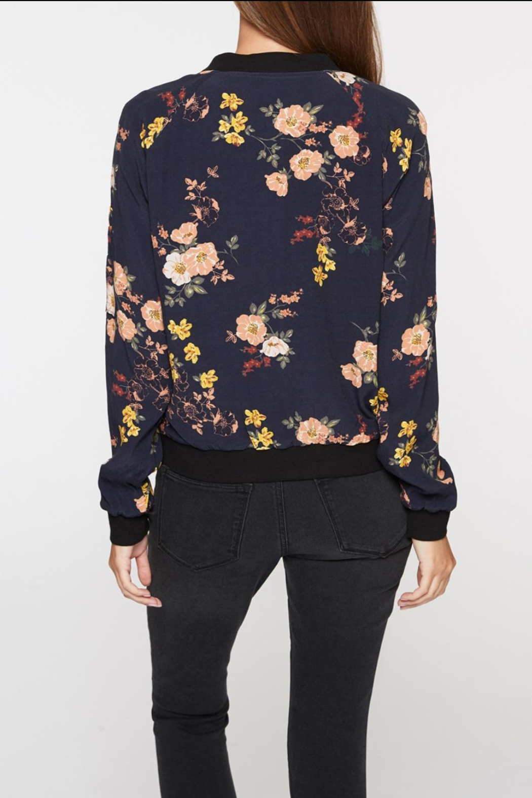 Sanctuary Floral Bomber - Front Full Image
