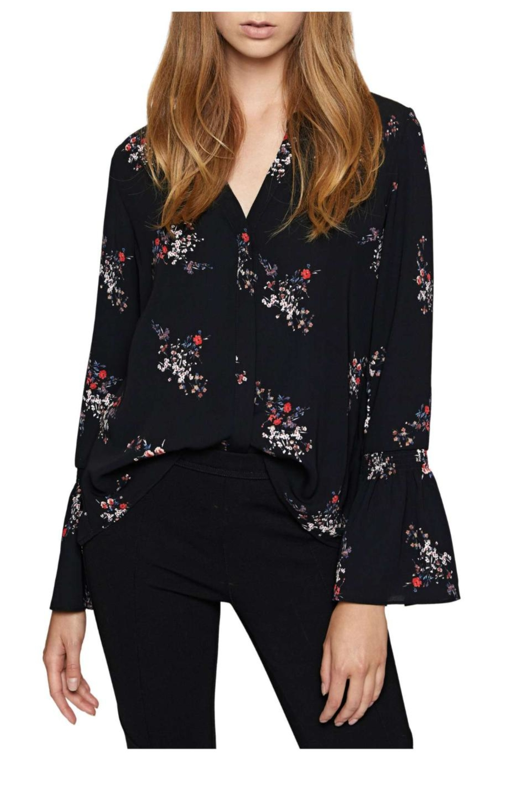 Sanctuary Floral Flutter Top - Main Image