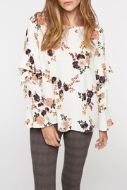 Sanctuary Floral Ruffle Blouse - Product Mini Image