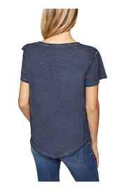 Sanctuary Gia Ruffle Tee - Front full body