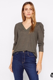Sanctuary Hannah Pleated Sleeve Top - Back cropped