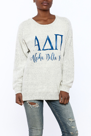 Sanctuary Home And Gifts Alpha Delta Pi Slubbie Shirt - Front cropped