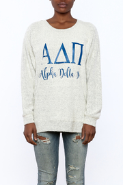 Sanctuary Home And Gifts Alpha Delta Pi Slubbie Shirt - Side cropped
