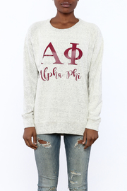 Sanctuary Home And Gifts Alpha Phi Slubbie Shirt - Side cropped