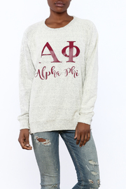 Sanctuary Home And Gifts Alpha Phi Slubbie Shirt - Product Mini Image