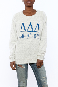 Sanctuary Home And Gifts Delta Delta Delta Slubbie Shirt - Product List Image