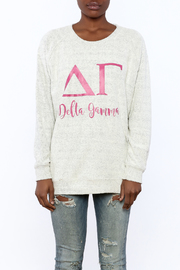 Sanctuary Home And Gifts Delta Gamma Slubbie Shirt - Side cropped
