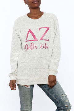 Sanctuary Home And Gifts Delta Zeta Slubbie Shirt - Product List Image