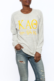 Sanctuary Home And Gifts Kappa Alpha Theta Slubbie Shirt - Product Mini Image