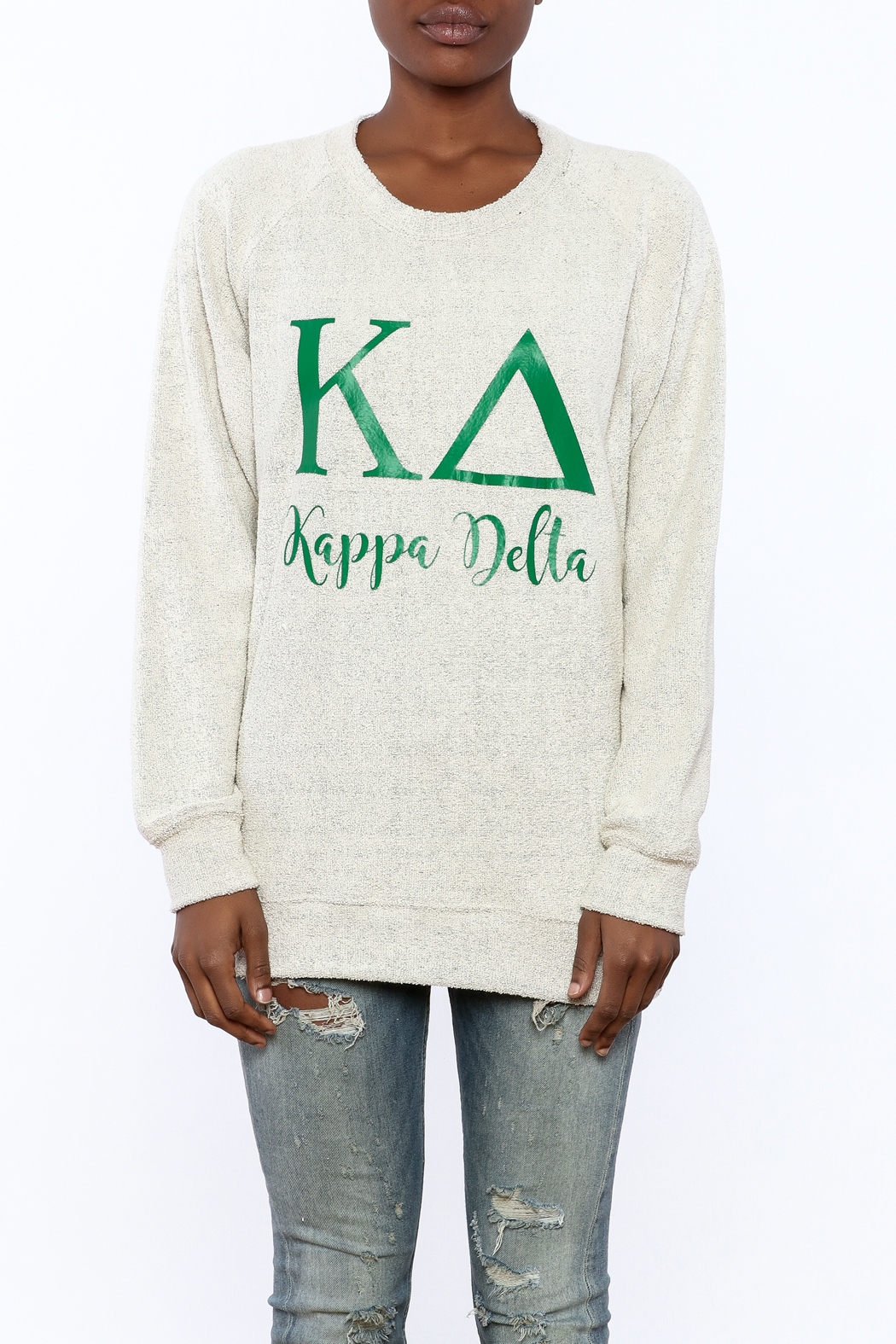 Sanctuary Home And Gifts Kappa Delta Slubbie Shirt - Side Cropped Image