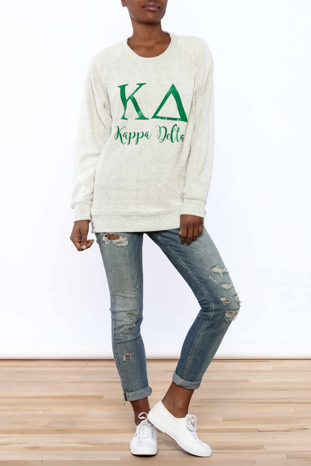 Sanctuary Home And Gifts Kappa Delta Slubbie Shirt - Front Full Image