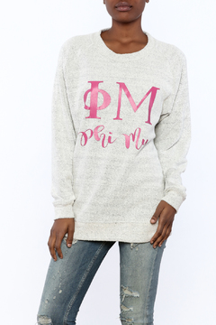 Sanctuary Home And Gifts Phi Mu Slubbie Shirt - Product List Image