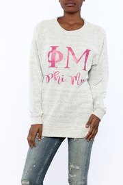 Sanctuary Home And Gifts Phi Mu Slubbie Shirt - Product Mini Image