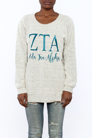 Sanctuary Home And Gifts Zeta Tau Alpha Slubbie Shirt - Side cropped