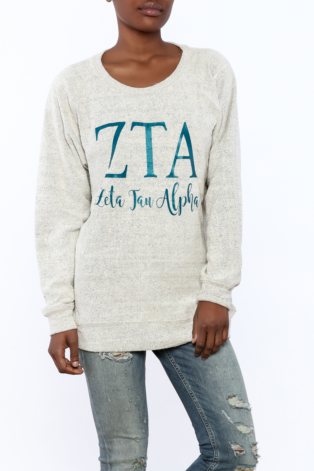 Sanctuary Home And Gifts Zeta Tau Alpha Slubbie Shirt - Main Image