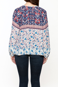 Shoptiques Product: Ivy Boho Printed Long Sleeve Top