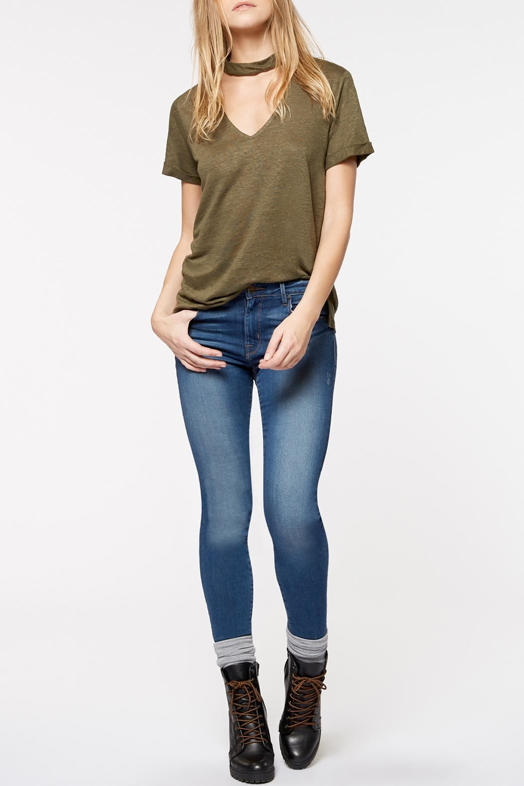 Sanctuary Joanna Choker Tee - Side Cropped Image