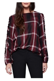 Sanctuary Josie Plaid Top - Product Mini Image