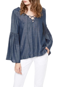 Shoptiques Product: Lila Lace Up Top