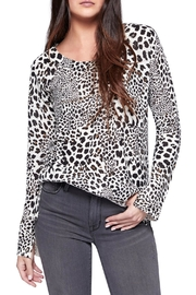 Sanctuary Leopard Crew Sweater - Product Mini Image