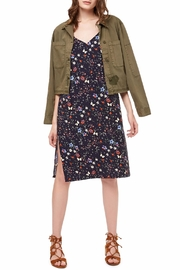 Sanctuary Lieutenant Cropped Military Jacket - Front cropped
