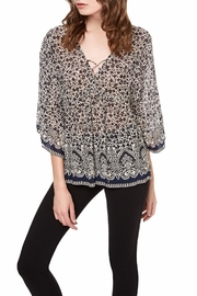 Sanctuary Lila Lace Up TOp - Product Mini Image
