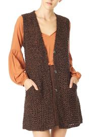Sanctuary Long Spice Vest - Front cropped