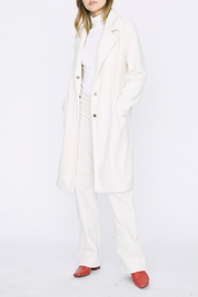 Sanctuary Long Teddy Coat - Front cropped
