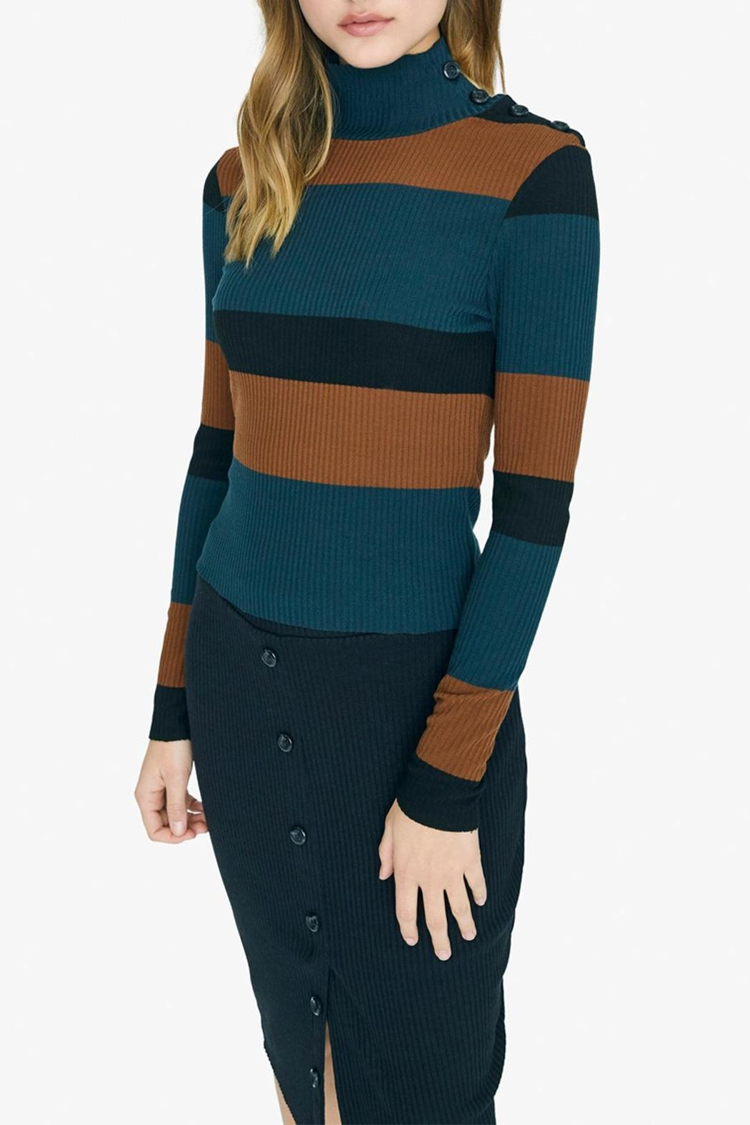 Sanctuary Mandy Stripe Top - Front Full Image