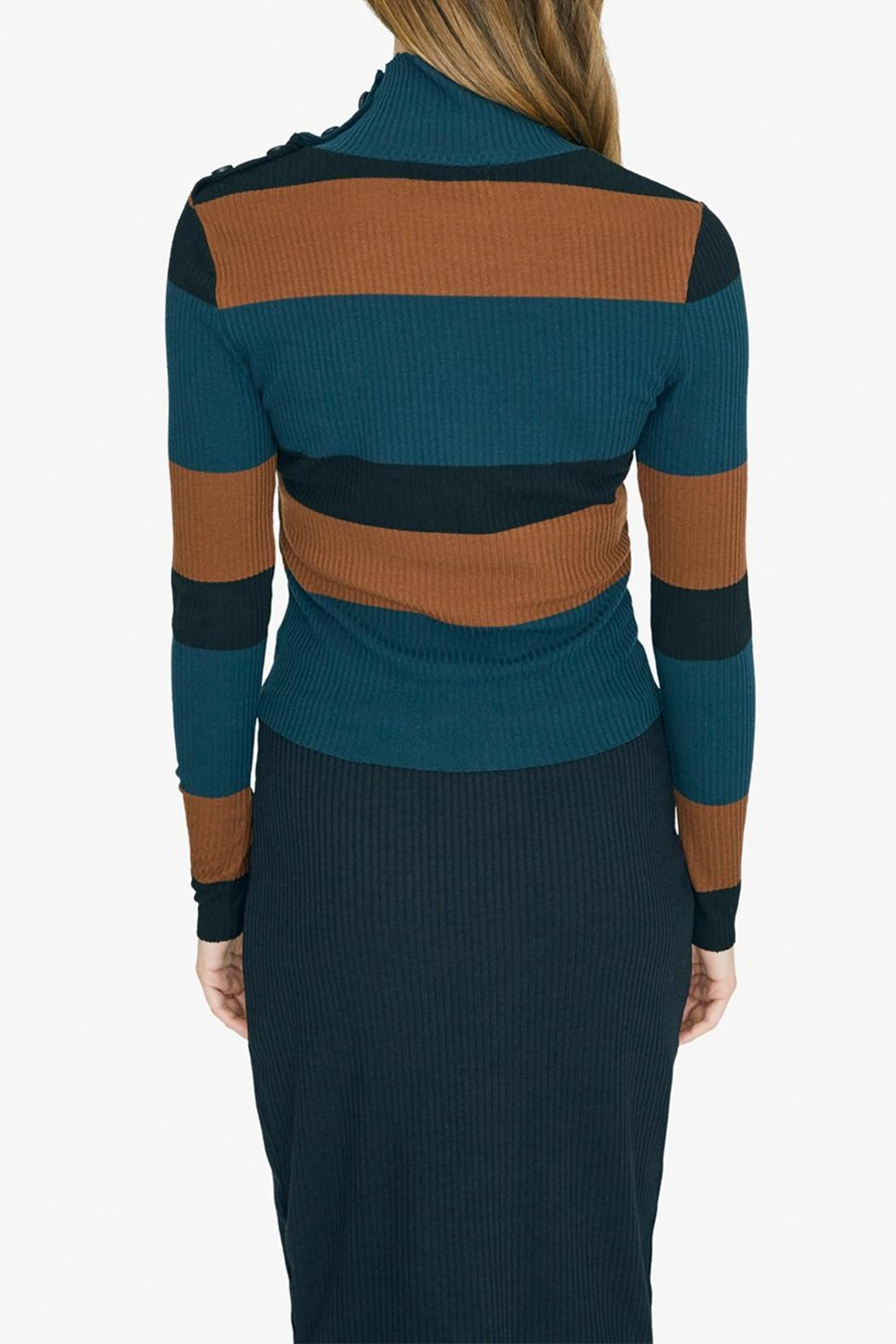 Sanctuary Mandy Stripe Top - Side Cropped Image