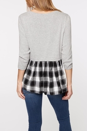 Sanctuary Meri Mix Sweater - Front full body