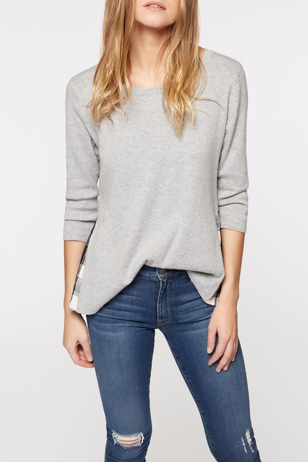Sanctuary Meri Mix Sweater - Front Cropped Image