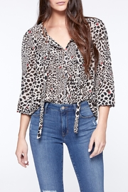 Sanctuary Bella Leopard Top - Product Mini Image